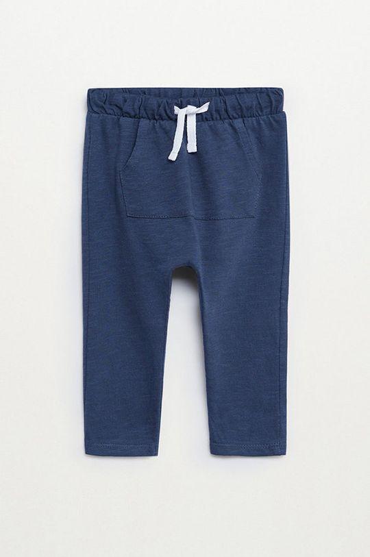 блакитний Mango Kids - Дитячі штани June 80-104 cm Для хлопчиків