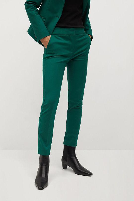 zelená Mango - Kalhoty COFI7 Dámský