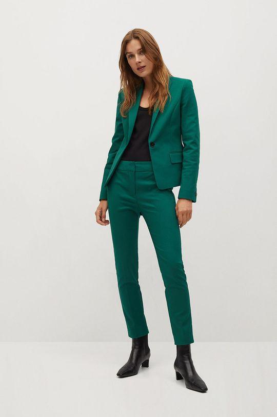 Mango - Kalhoty COFI7 zelená