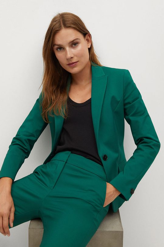 zelená Mango - Kalhoty COFI7