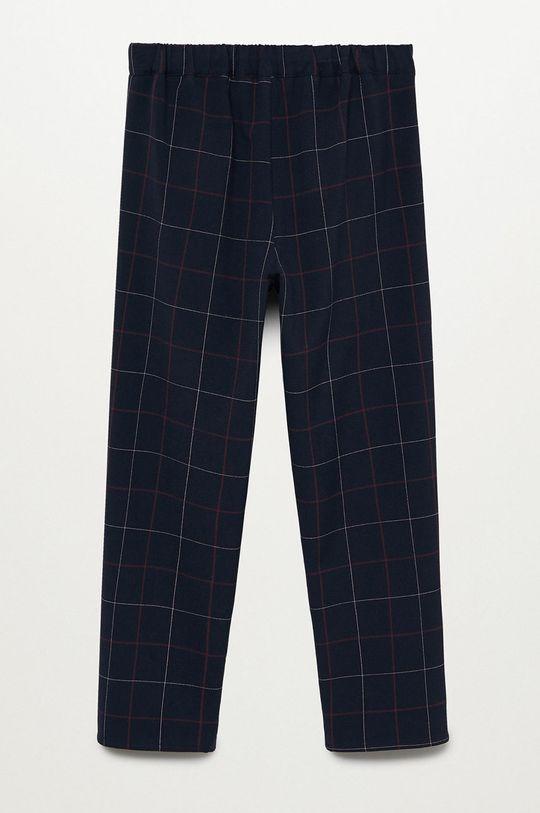 Mango Kids - Pantaloni copii Buggy 116-164 cm bleumarin