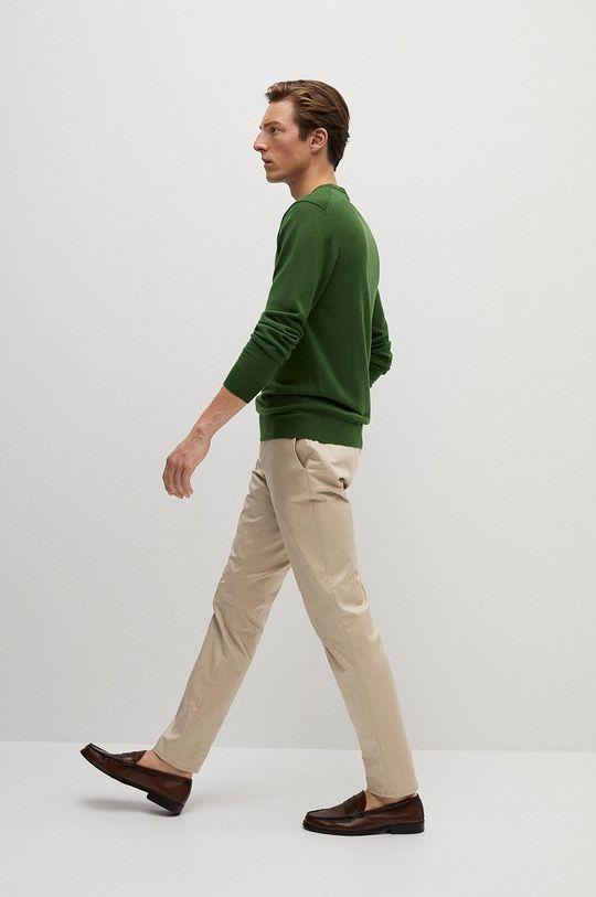 Mango Man - Spodnie Dublin cielisty