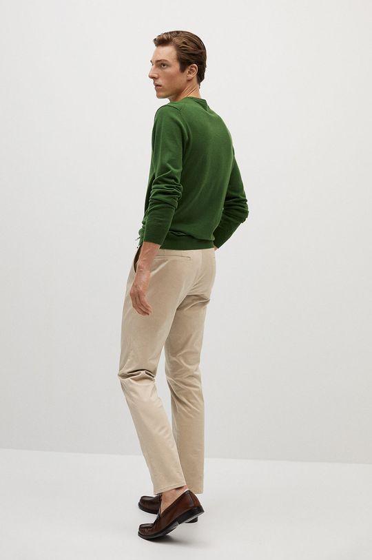 Mango Man - Spodnie Dublin Materiał zasadniczy: 97 % Bawełna, 3 % Elastan, Podszewka kieszeni: 100 % Bawełna