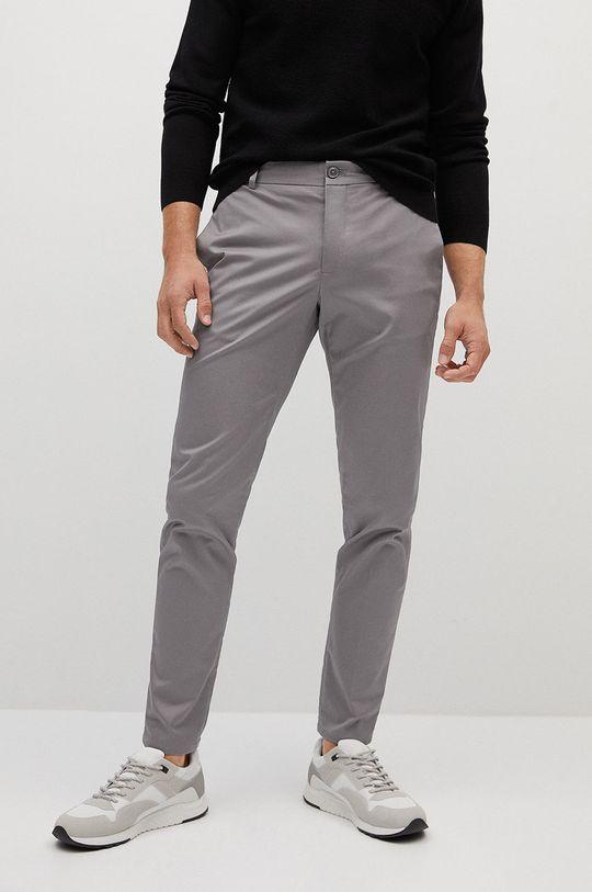 jasny szary Mango Man - Spodnie Dublin Męski
