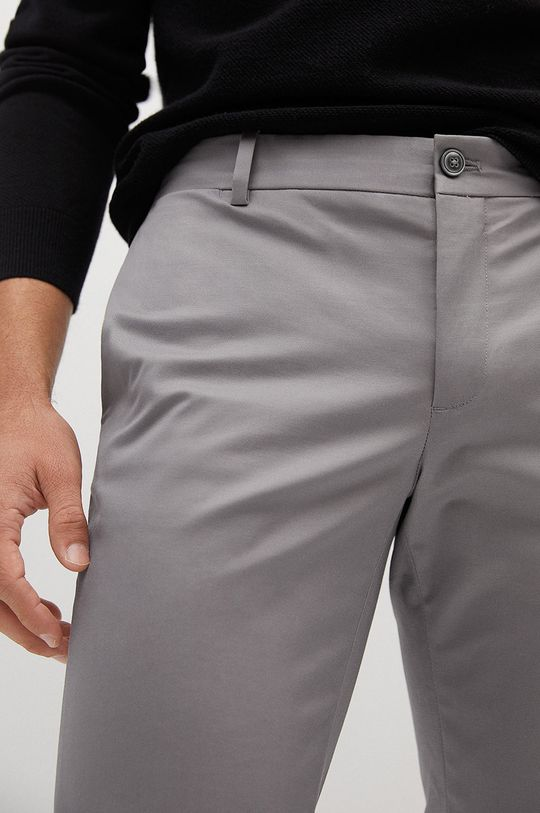 jasny szary Mango Man - Spodnie Dublin