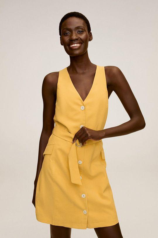 жовтий Mango - Сукня Malvi Жіночий