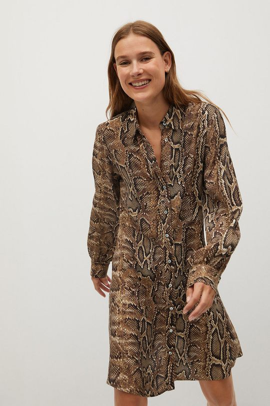 коричневий Mango - Сукня Boa Жіночий