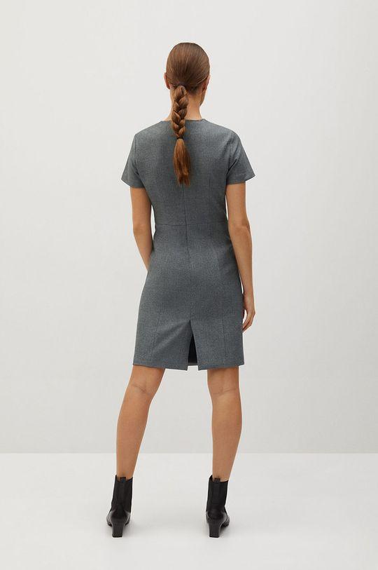Mango - Šaty Iriel  Podšívka: 100% Polyester Základná látka: 4% Elastan, 30% Recyklovaný polyester , 34% Polyester, 32% Viskóza