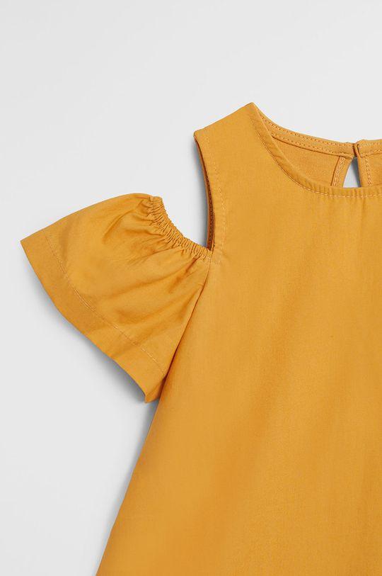 Mango Kids - Rochie fete Shoulder 80-104 cm  100% Bumbac organic