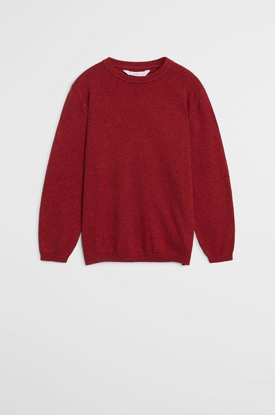 czerwony Mango Kids - Sweter dziecięcy TEN Chłopięcy