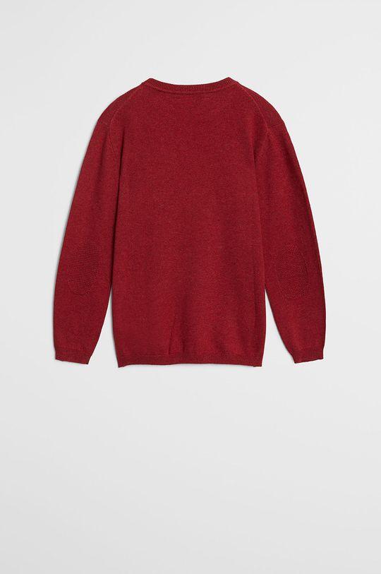 Mango Kids - Sweter dziecięcy TEN czerwony