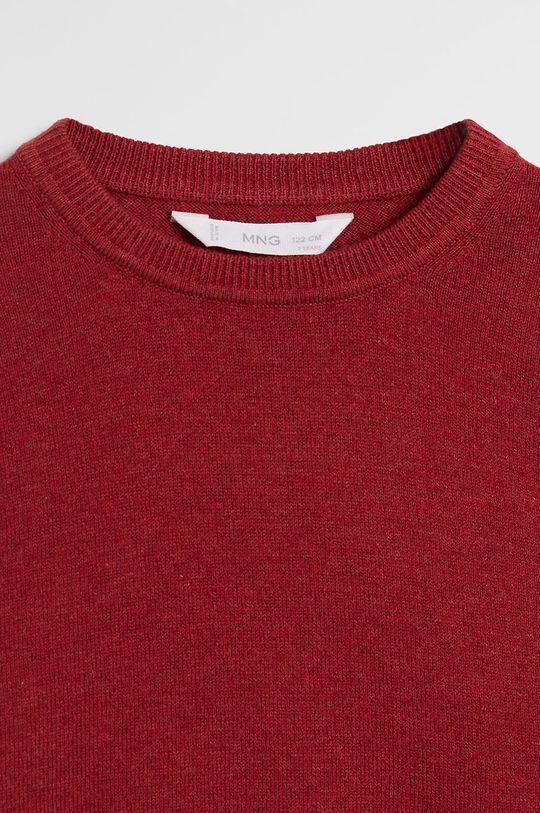 Mango Kids - Sweter dziecięcy TEN 95 % Bawełna, 5 % Kaszmir