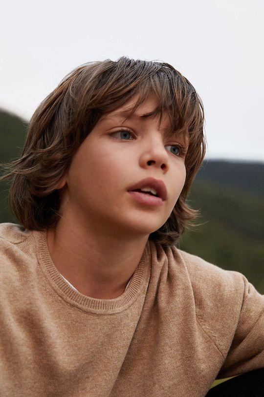 jasny szary Mango Kids - Sweter dziecięcy TEN