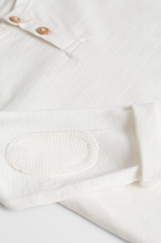 biela Mango Kids - Detské tričko s dlhým rukávom Duran 80-104 cm