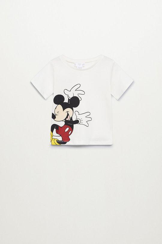 білий Mango Kids - Дитяча футболка Mboy 80-110 cm Для хлопчиків