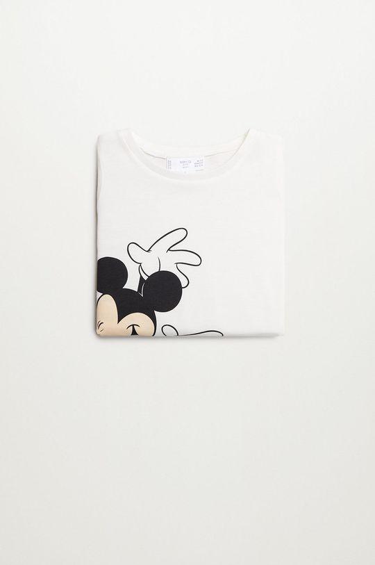 білий Mango Kids - Дитяча футболка Mboy 80-110 cm