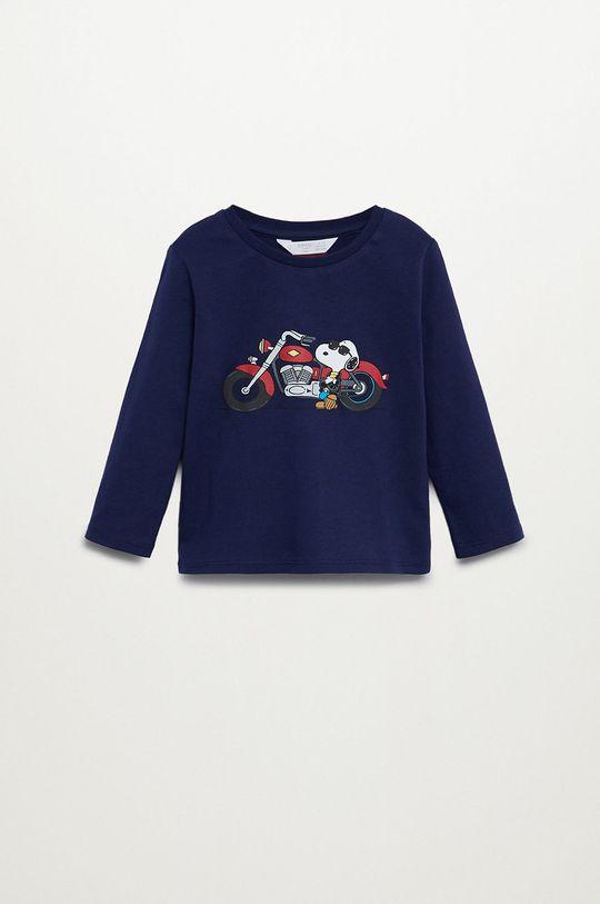 темно-синій Mango Kids - Дитячий лонгслів SMOTO Для хлопчиків