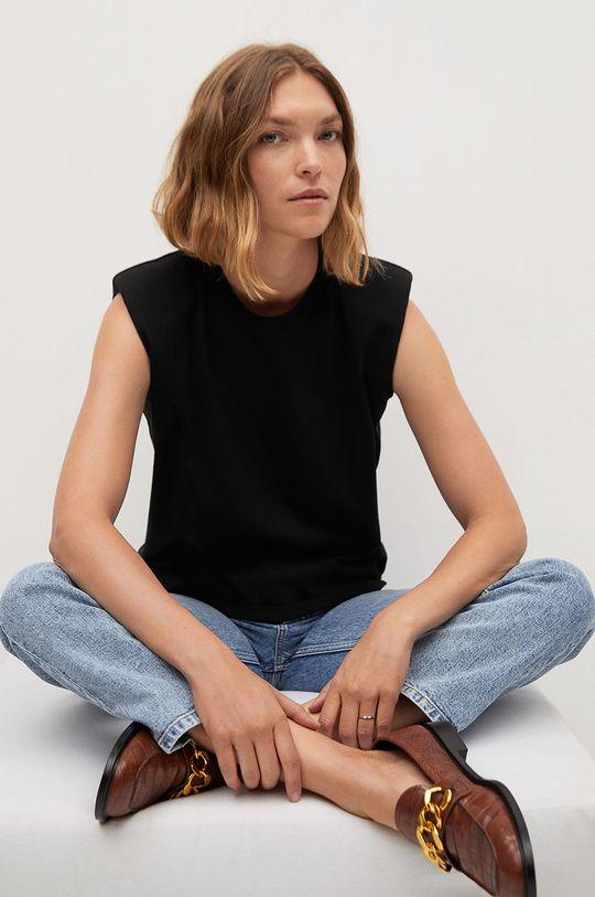 czarny Mango - T-shirt Hambro7