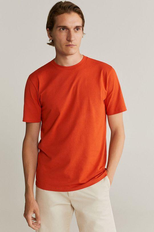 portocaliu Mango Man - Tricou Cherlo De bărbați