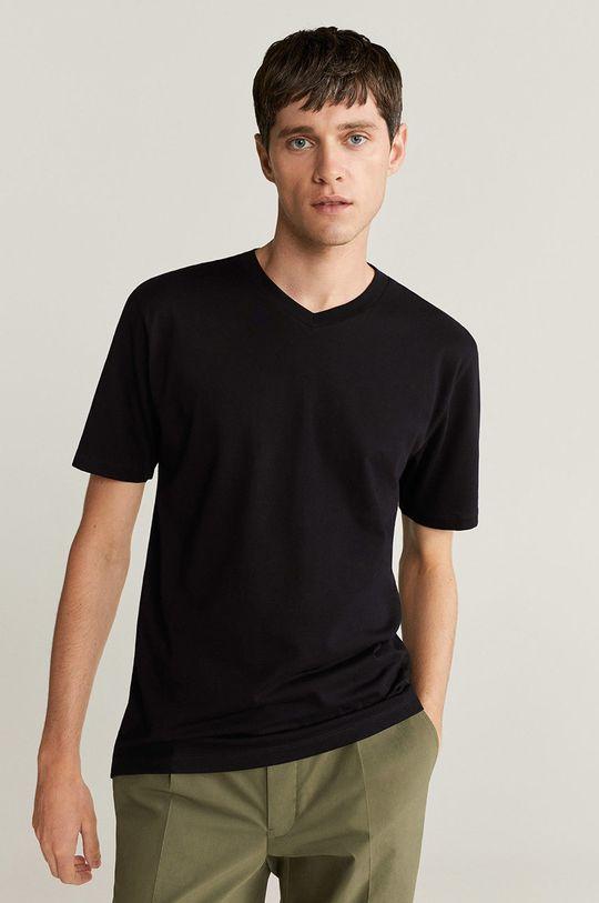 negru Mango Man - Tricou Chelsea De bărbați