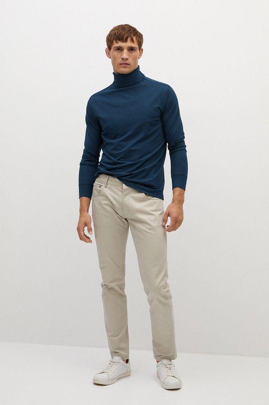 Mango Man - Tričko s dlouhým rukávem LUTON námořnická modř