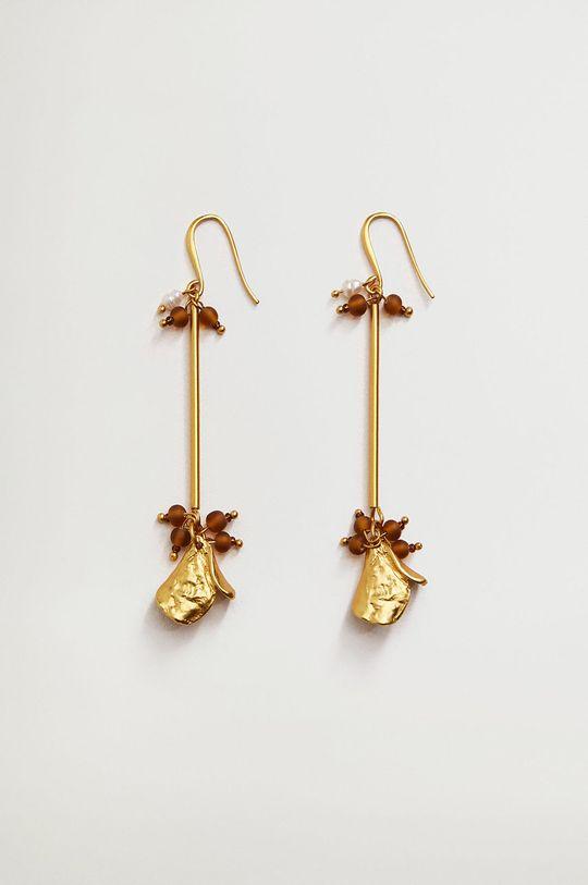 złoty Mango - Kolczyki BINIBECA Damski