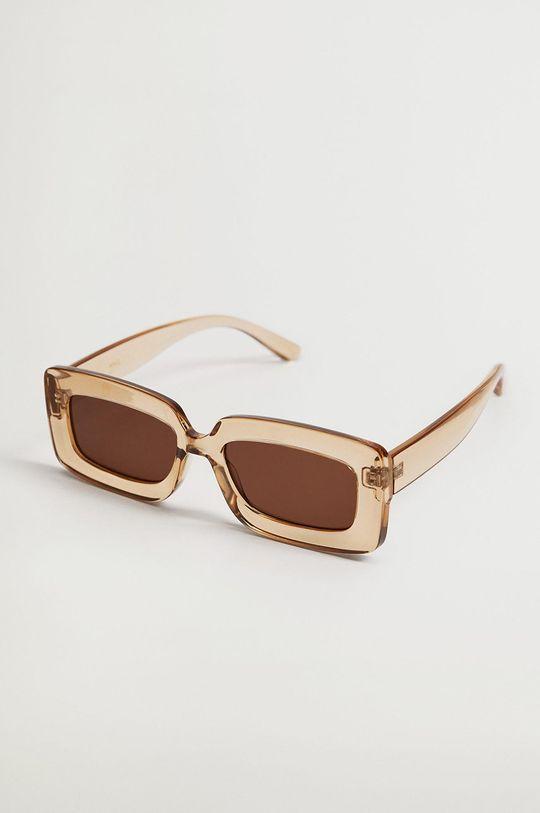 pszeniczny Mango - Okulary przeciwsłoneczne SOPHIE Damski