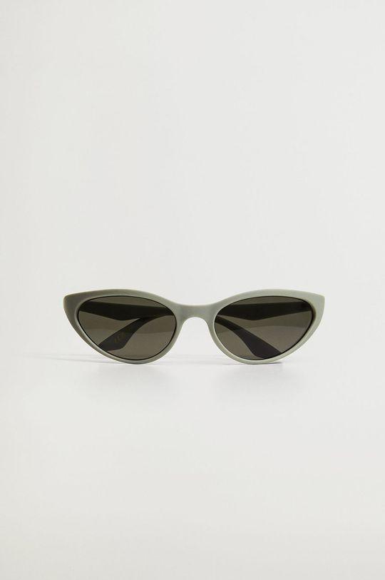 Mango - Okulary przeciwsłoneczne KYTE zielony