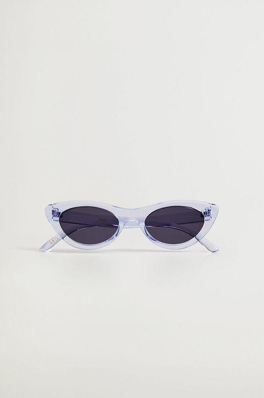 Mango - Okulary przeciwsłoneczne SPICE niebieski
