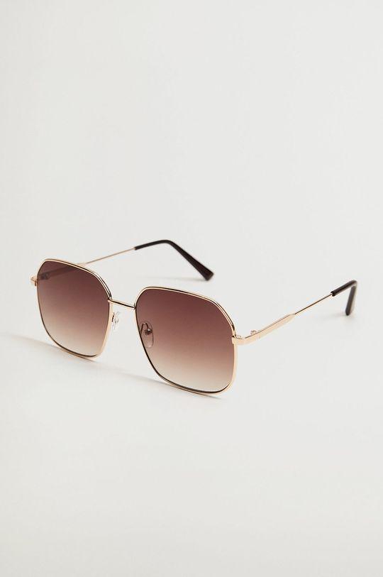 złoty Mango - Okulary przeciwsłoneczne Manuela Damski