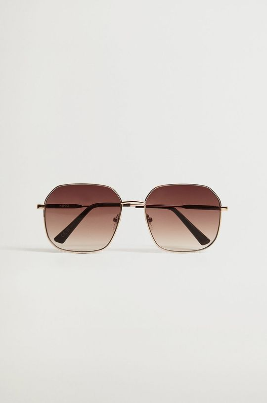Mango - Okulary przeciwsłoneczne Manuela złoty