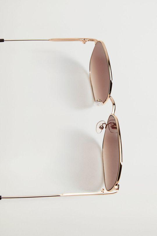 Mango - Okulary przeciwsłoneczne Manuela Materiał syntetyczny, Metal