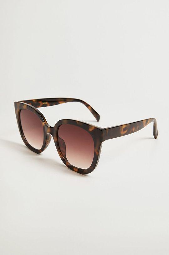 hnědá Mango - Sluneční brýle Amelia Dámský