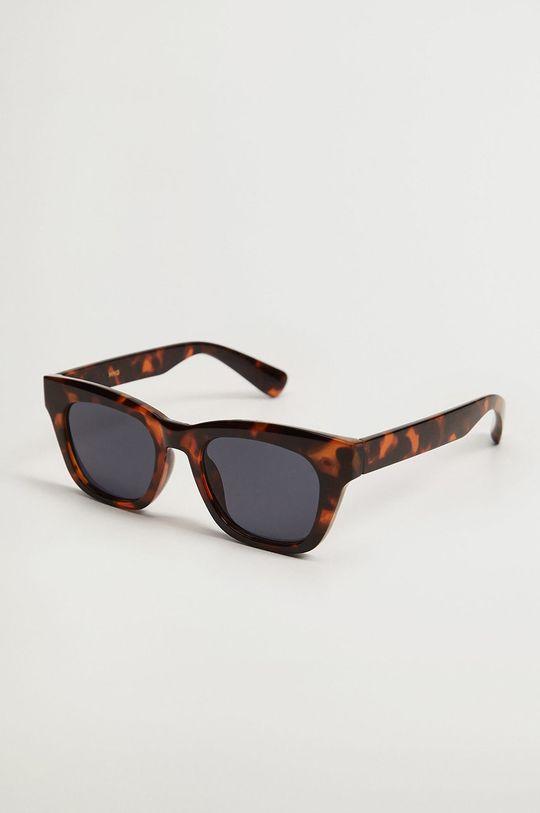 brązowy Mango - Okulary przeciwsłoneczne Blanca Damski
