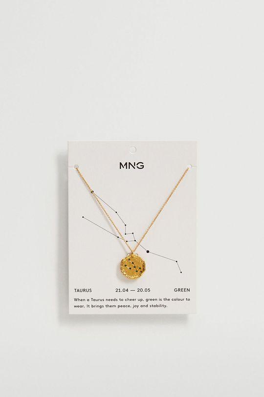 Mango - Naszyjnik TAURUS złoty