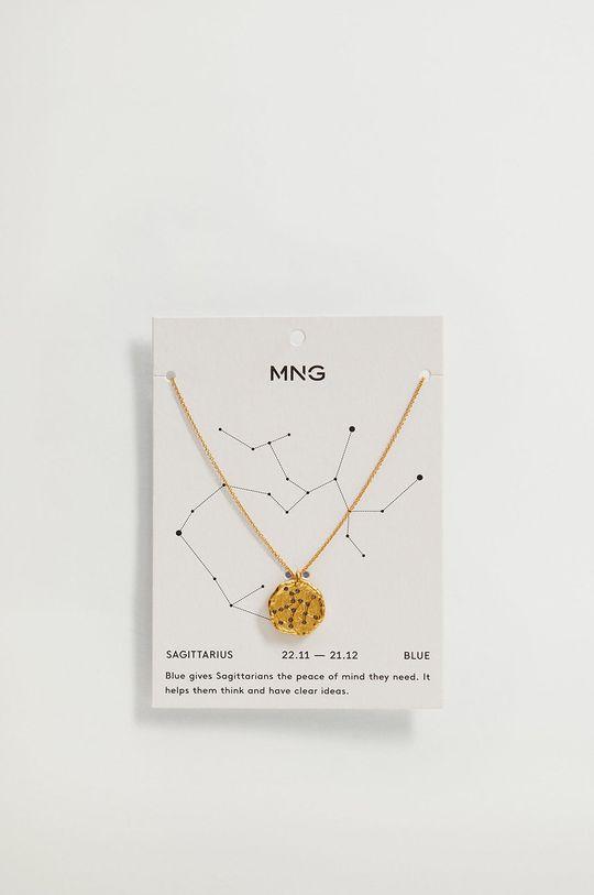 Mango - Naszyjnik SAGITARI złoty