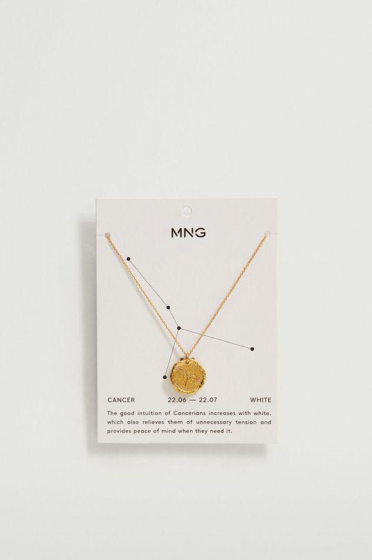 Mango - Naszyjnik CANCER złoty