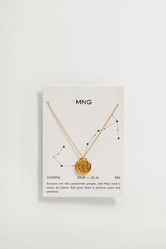 Mango - Biżuteria SCORPIO złoty