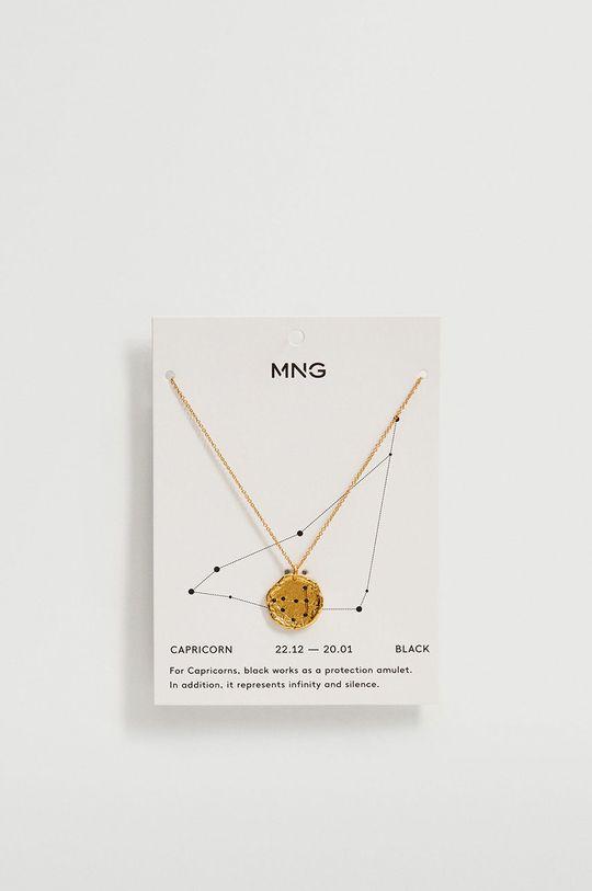 Mango - Naszyjnik CAPRICOR złoty