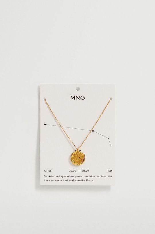 Mango - Náhrdelník ARIES zlatá
