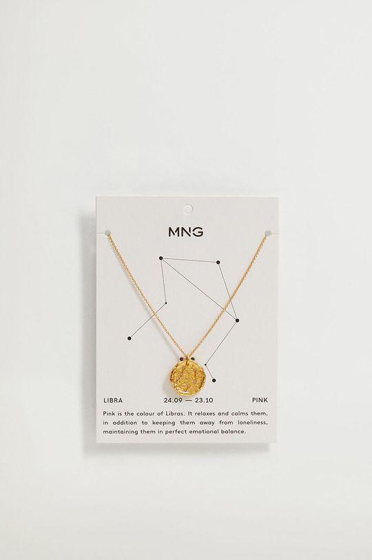 Mango - Naszyjnik LIBRA złoty