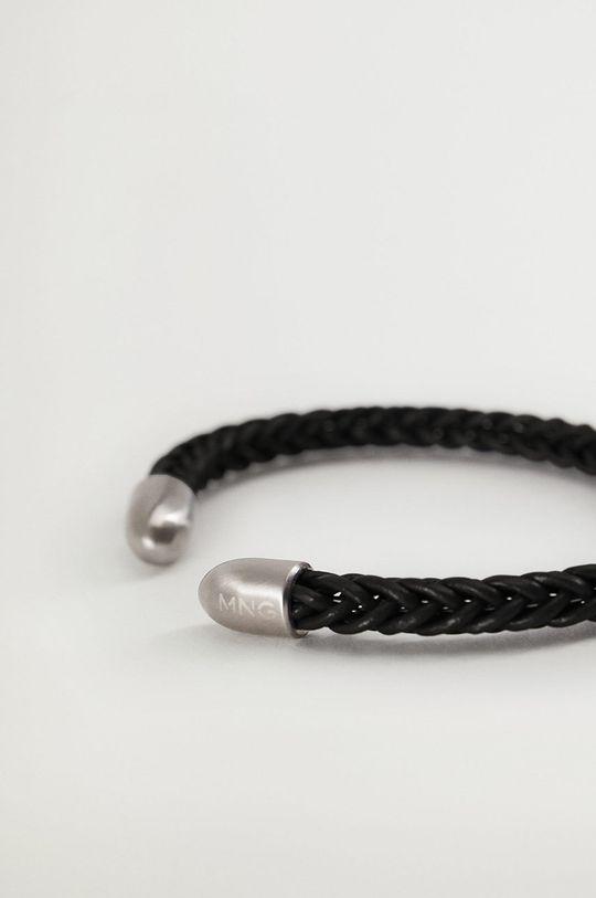 Mango Man - Bransoletka Bracelet czarny