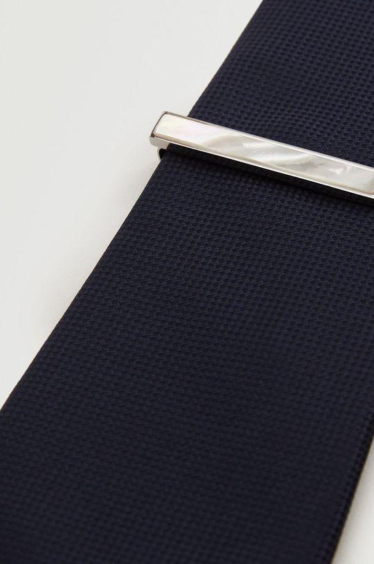 Mango Man - Ac de cravata Marble alb