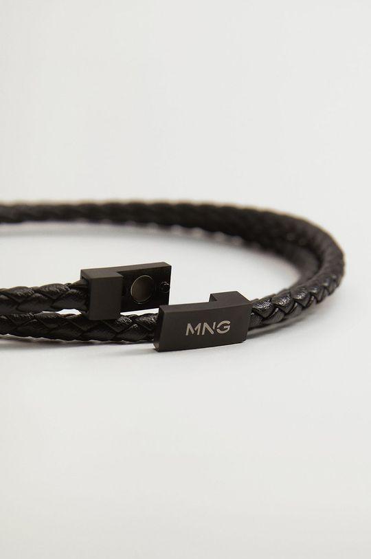 Mango Man - Bratara Long negru