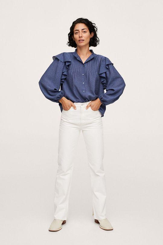 Mango - Bluzka Dakota niebieski