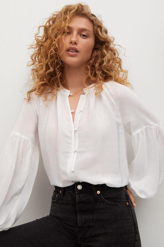 biały Mango - Bluzka Molly Damski