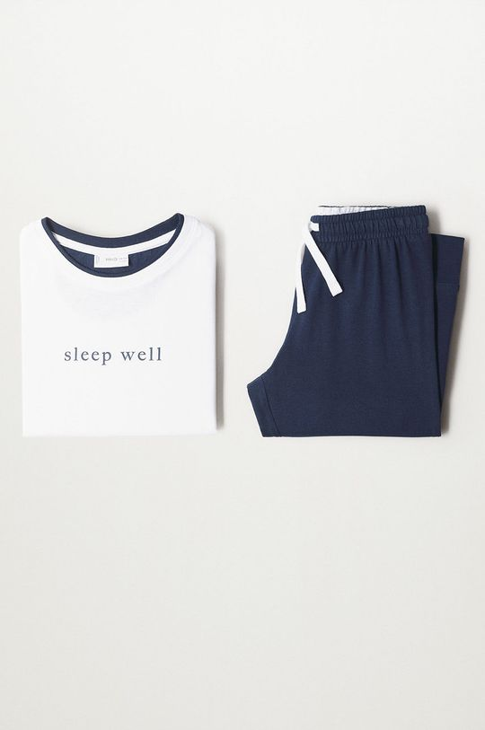 alb Mango Kids - Pijama copii Well