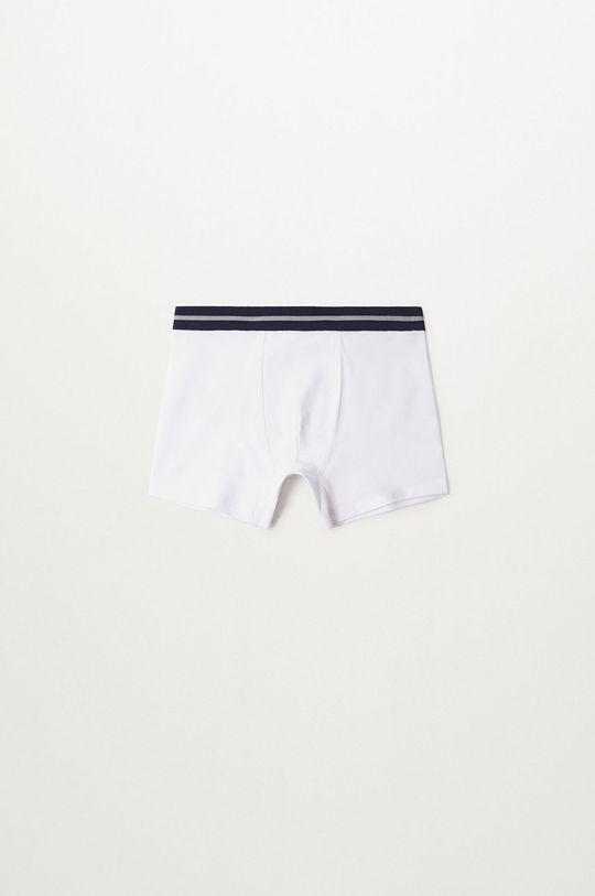 Mango Kids - Boxeri copii Stripes (3-pack)  95% Bumbac, 5% Elastan