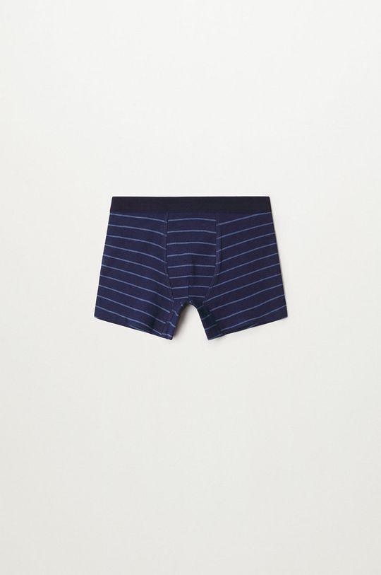 bleumarin Mango Kids - Boxeri copii Stripes (3-pack)