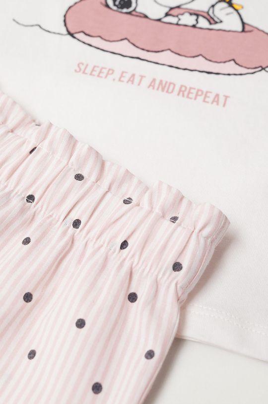 Mango Kids - Dětské pyžamo Snoopyb 80-104 cm  100% Bavlna